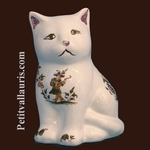 KITTEN OLD MOUSTIERS TRADITION DECORATION