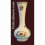 SOLIFLOR VASE OLD MOUSTIERS DECORATION TRADITION