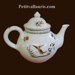 TEAPOT OLD MOUSTIERS TRADITION DECORATION