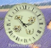 HORLOGE FAIENCE DE STYLE TRADITION MOUSTIERS POLYCHROME CR