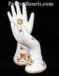 CARRY JEWELS HAND FORM OLD MOUSTIERS TRADITION DECORATION