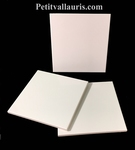 FAIENCE TILE 15  X 15 CM THICKNESS 0,5 CM WHITE COLOR