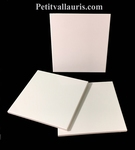 FAIENCE TILE 20 X 20 CM WHITE COLOR THICKNESS 0,6 CM