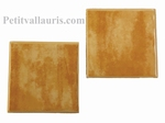 TILE 10 X 10 CM YELLOW COLOR THICKNESS 0,5 CM