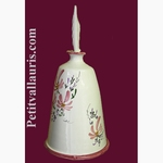 CARRY HAND BRUSH PINK FLOWER DECORATION