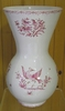VASE NADINE TAILLE 1 DECOR TRADITION VIEUX MOUSTIERS ROSE