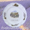 LOUIS XV PLATE MODEL HARVEST LAVANDERS WITH CUSTOMIZED TEXT