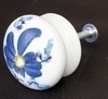 BUTTON DRAWER D35 (SIZE AND FIXING STANDART) BLUE COLOR