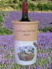 WINE COOLER CUSTOMIZED INSCRIPTION  WITH PROVENCE LANDSCAPE