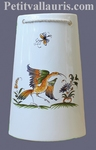 TILE TO SUSPEND BIRD OLD MOUSTIERS TRADITION DECORATION