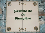 FRESQUE DECOR TRADITION MOUSTIERS AVEC INSCRIPTIONS PERSO