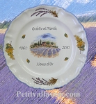 WEDDING MARRIAGE STYLE PLATE MODEL LAVANDER FIELD DECORATION