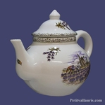 CERAMIC TEAPOT OLD PROVENCE DECORATION