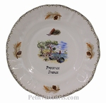 LOUIS XV PLATE MODEL RIVIERA SEA COAST WITH CUSTOMIZED TEXT