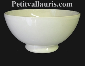 BOWL WHITE COLOR ENAMELED