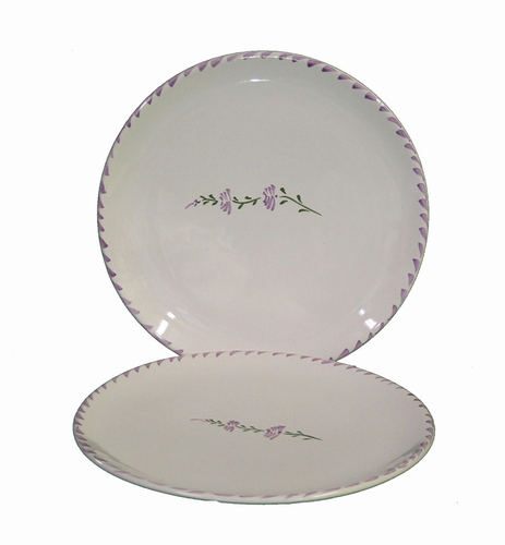 SIMPLE PLATE MODEL PROVENCAL WITH LAVANDER FLOWER DECOR