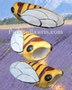 CERAMIC-FAIENCE DECORATIVE CICADA SIZE 2