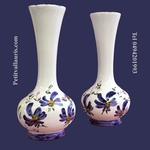 SOLIFLOR VASE BLUE FLOWER DECORATION