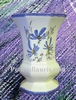 VASE MEDICIS SMALL SIZE MODEL BLUE FLOWERS COLOR