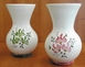 VASE NADINE SIZE 2 MODEL PINK FLOWERS DECORATION