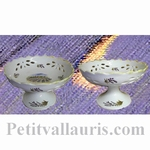 CUP PERFORATE ON FEET PROVENCE LANDSCAPE DECORATION
