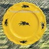 DESSERT PLATE LOUIS XV PROVENCAL COLOR WITH BLACK OLIVE DECO