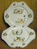 PLATE EMPIRE MODEL OLD MOUSTIERS TRADITION DECORATION