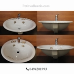 OVAL BASIN OLD MOUSTIERS TRADITION DECORATION