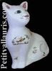 CAT MODEL MISTIGRI OLD MOUSTIERS TRADITION DECORATION