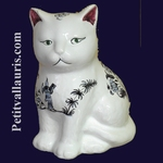 KITTEN OLD BLUE MOUSTIERS TRADITION DECORATION