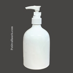 LIQUID SOAP DISPENSER WHITE COLOR
