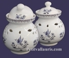 POT A AIL DECOR TRADITION VIEUX MOUSTIERS BLEU