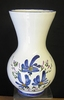 VASE NADINE SIZE 2 MODEL BLUE FLOWERS DECORATION