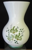 VASE NADINE SIZE 2 MODEL GREEN FLOWERS DECORATION