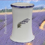 USTENSILS KITCHEN CERAMIC SUPPORT LAVANDER DECOR