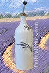 OILCAN BOTTLE LAVANDER BRANCH DECOR