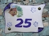 HOUSE PLAQUE PARCHMENT SMALL MODEL CAT PAINTING NUMBER 6