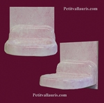WALL CARRY SOAP ON TILE PINK COLOR ENEMALLED