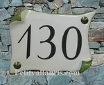 HOUSE PLAQUE PARCHMENT SMALL SIZE FIRST PRICE MODEL (GREEN)