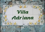 FRESCO WALL TILES FOR BUILDING FLOWERS ORANGES & GREENS DECO