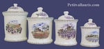 SERIES ROUND POTS PROVENCE LANDSCAPE DECORATION