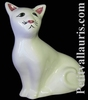 CAT MODEL MISTIGRI ENAMELLED WHITE COLOR