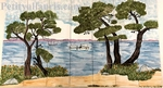 FRESCO TILES CERAMIC SEASIDE RIVIERA DECORATION 60 X 105