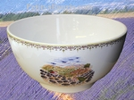 SALAD BOWL SMALL SIZE BLUE PROVENCE LANDSCAPE DECORATION