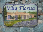 STYLE HOUSE PLAQUE RECTANGLE MODEL CUSTOMER HOUSE PAINT