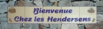 FRESQUE DECOR PROVENCAL INSCRIPTIONS PERSONNALISEES BLEUES