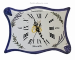 CLOCK FOR BIRTHDAY OF MARRIAGE BLUE COLOR (PARCHMENT MODEL)