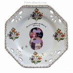 CUSTOMIZED OCTAGONAL PLATE SMALL SIZE WITH PHOTOGRAPH