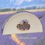 PORTE SERVIETTES DE TABLE DECOR PAYSAGE PROVENCE