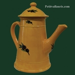 FAIENCE COFFEE POT GRAND MOTHER MODEL PROVENCAL DECOR